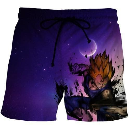 Dragon Ball Super - Vegeta Saiyan Rage Shorts - Anime Clothes