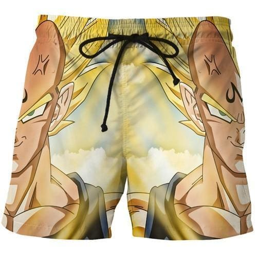 Dragon Ball Super - Vegeta Super Saiyan Shorts - Anime Clothes