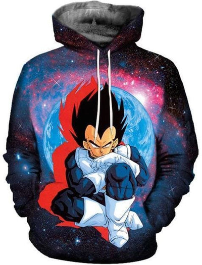 Dragon Ball Super - Vegeta - Dragon Ball Z Hoodies