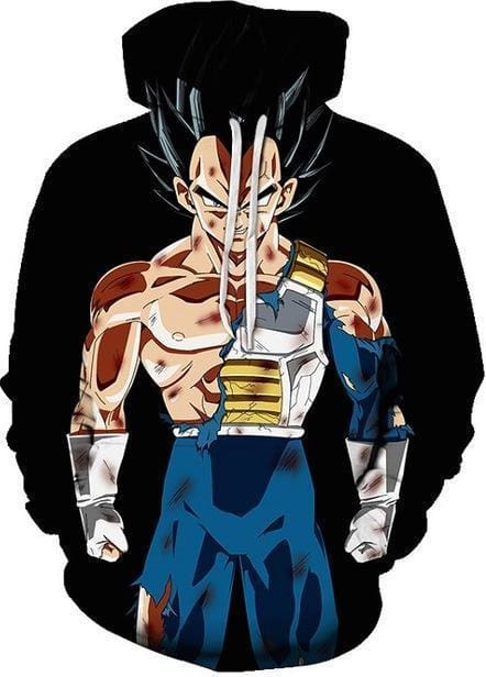 Dragon Ball Super - Warrior Vegeta - DBZ Hoodie