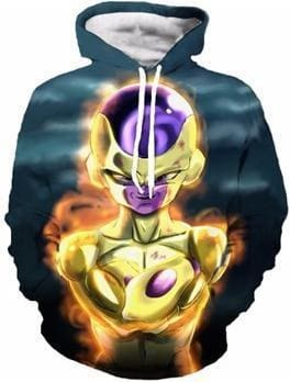 Dragon Ball Z Hoodies - Frieza - DBZ Hoodies