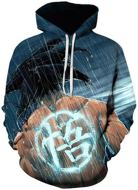Dragon Ball Z Hoodies - Goku DBZ Symbol - DBZ Hoodies