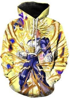 Dragon Ball Z Hoodies - Super Saiyan Charge - DBZ Hoodies