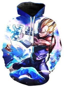 Dragon Ball Z Hoodies - Super Saiyan - DBZ Hoodies