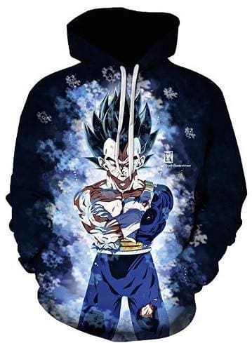 Dragon Ball Z Hoodies - Ultra Instinct Vegeta - DBZ Clothes