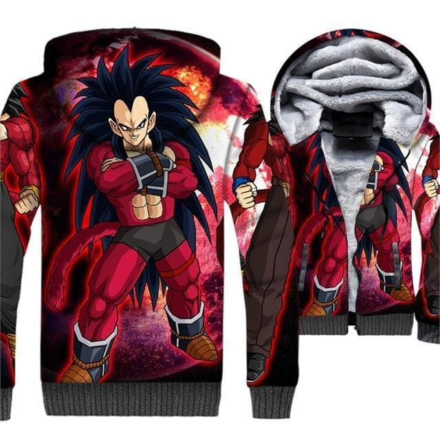 Dragon Ball Z Jacket - 3D Fleece Jacket - Anime Clothes