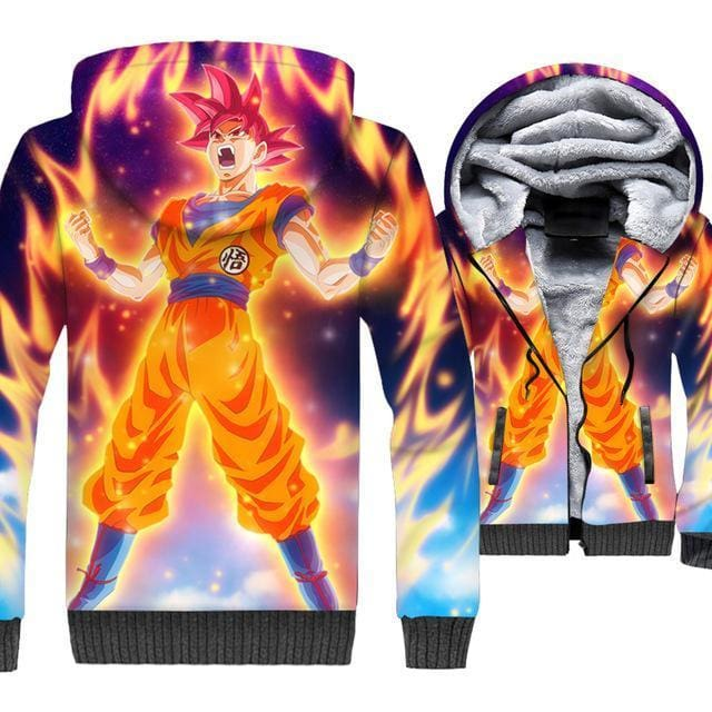 Dragon Ball Z Jacket - Goku Charge Jacket - Anime Clothes