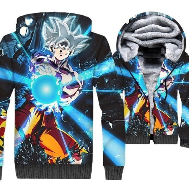 Dragon Ball Z Jacket - Goku Kamehameha - Anime Clothes