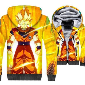 Dragon Ball Z Jacket - Goku Stance Jacket - Anime Clothes