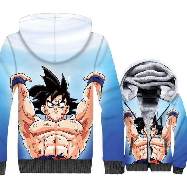 Dragon Ball Z Jacket - Goku Strength Jacket - Anime Clothes