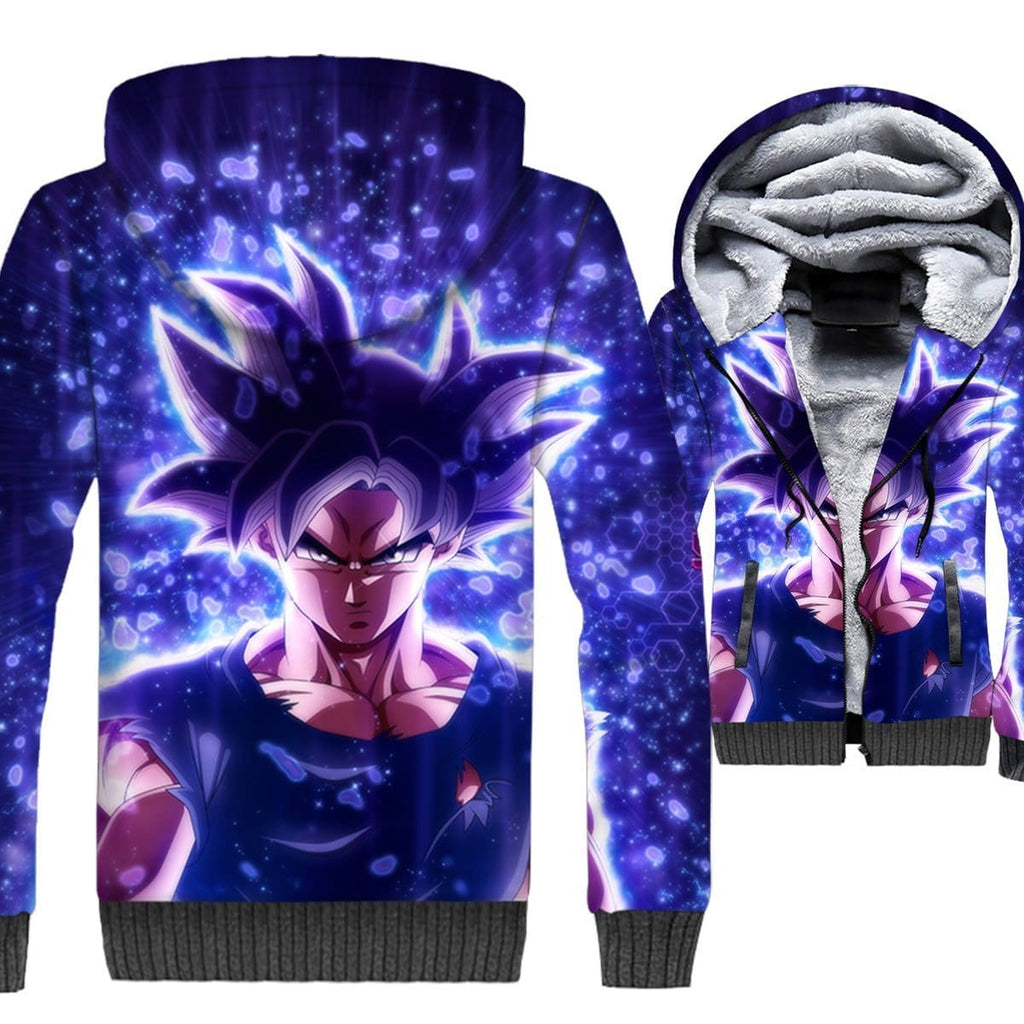 Dragon Ball Z Jacket - Goku Ultra Instinct 3D Jacket - Anime Clothes