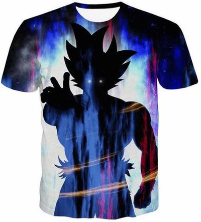 Dragon Ball Z Shirts - Shadow Goku - Dbz Shirts