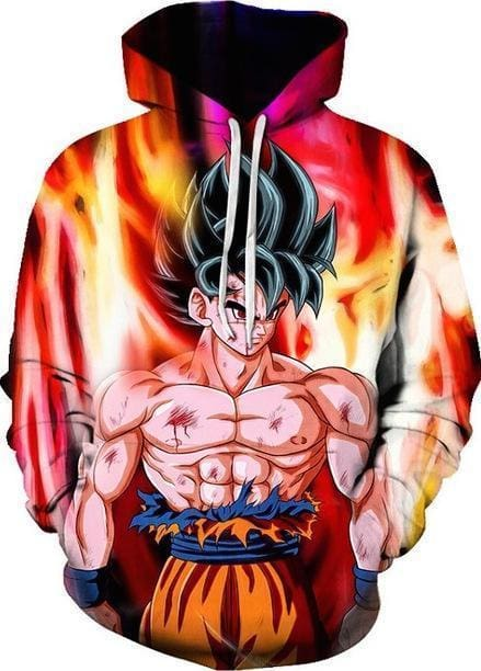 Dragon Ball Z - Ultra Instinct Warrior Goku - DBZ Hoodie