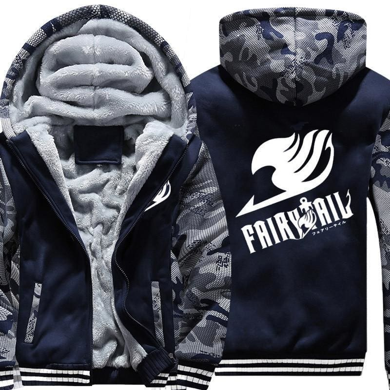 Fairy Tail Jacket - Logo - Anime Clothes