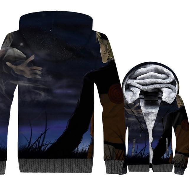 Naruto Clothing - 3D Fleece Jacket - Anime Clothes
