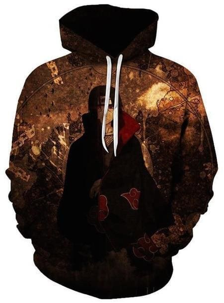 Naruto Clothing - 3D Hoodie - Anime Clothing