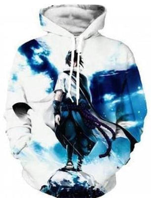 Naruto Clothing - 3D Pullover Hoodie - Anime Clothing