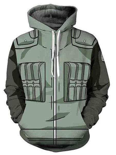 Naruto Clothing - Hokage 3D Clothes - Anime Hoodies