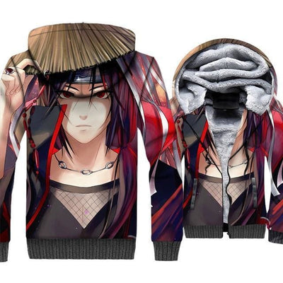 Naruto Clothing - Warrior Fleece Jacket - Anime Clothes
