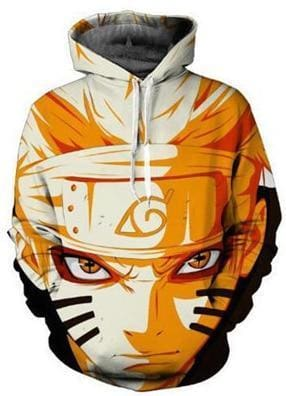 Naruto Clothing - Warrior Hoodie - Anime Clothing