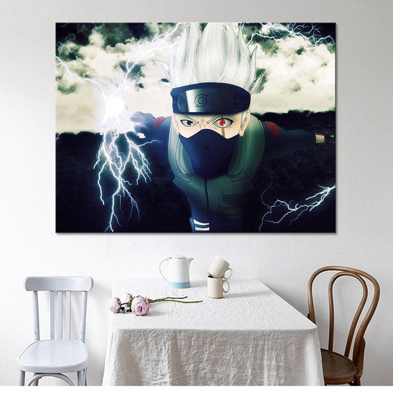 Naruto - Kakashi - Anime Canvas Art