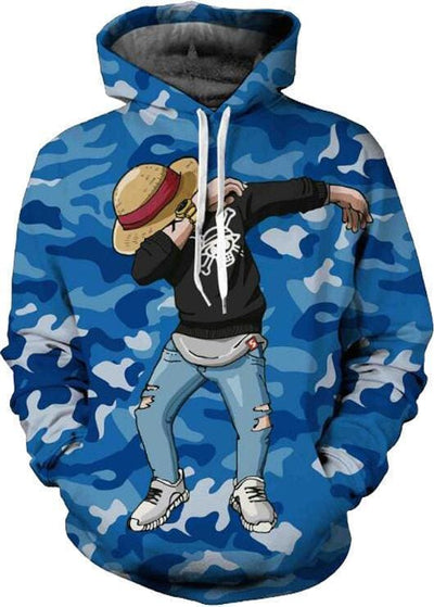 One Piece Anime - Luffy Hat - Cool Hoodies