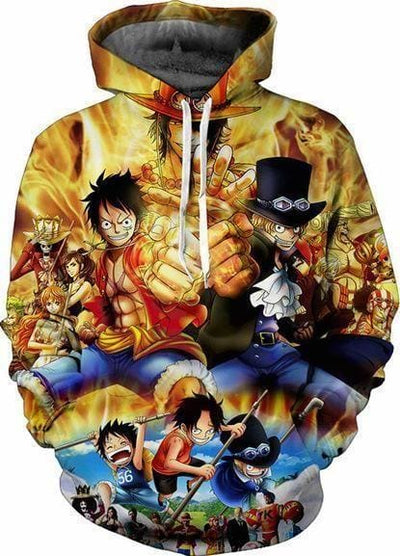 One Piece Anime - Luffy Punch - Anime Merchandise