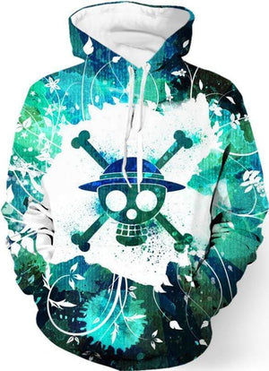 One Piece Anime - Skull And Bones - Cool Hoodies
