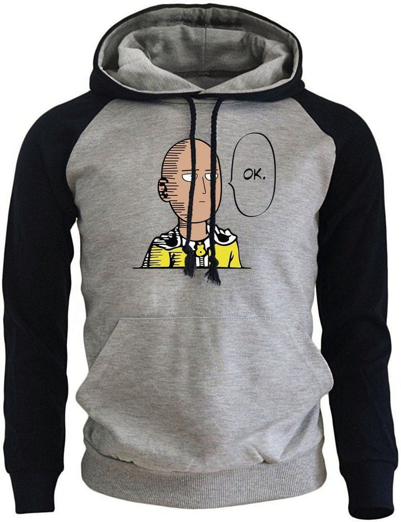 One Punch Man OK - Saitama Hoodie - Anime Merch