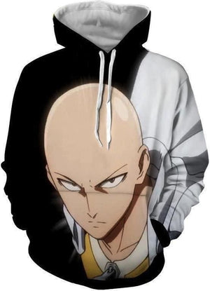 One Punch Man - Saitama Hoodie - Anime Clothing