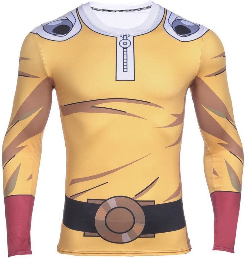 One Punch Man Shirt - Saitama Suit - Anime Clothing