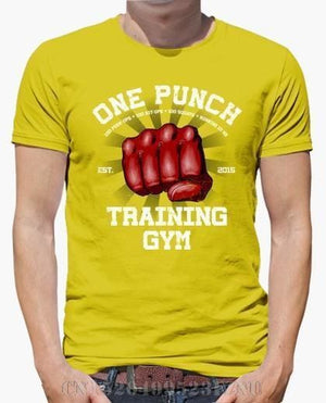 One Punch Man Shirt - Training Gym - Anime Clothing