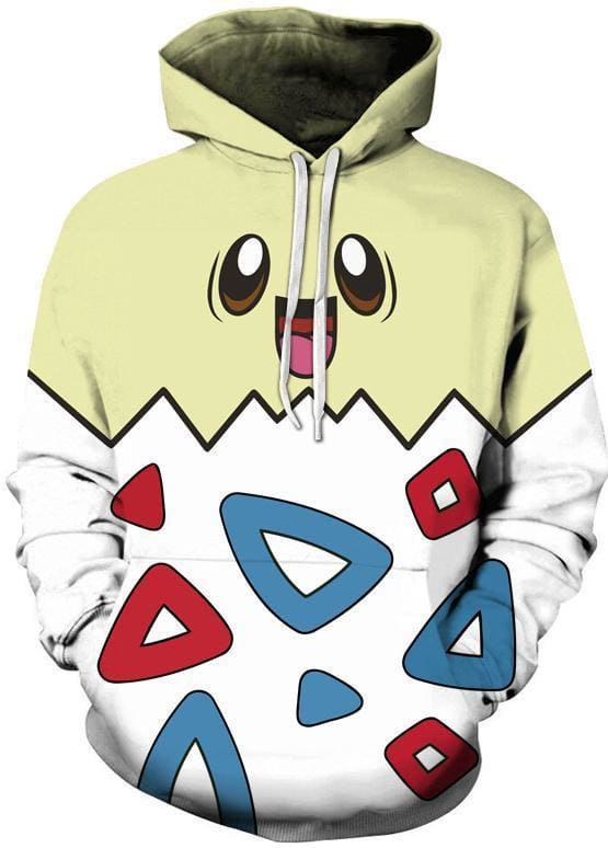 Pokemon - Egg Hoodie - Anime Clothing