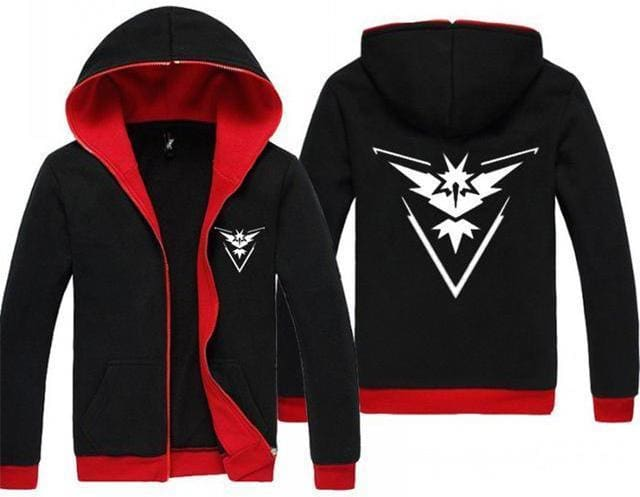 Pokemon Go Hoodie - Team Instinct - Anime Clothing