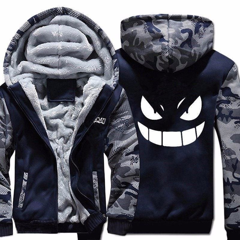 Pokemon Jacket - Gengar Hoodie - Anime Clothes