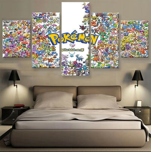 Pokemon Merchandise - Characters Collage - Anime Posters