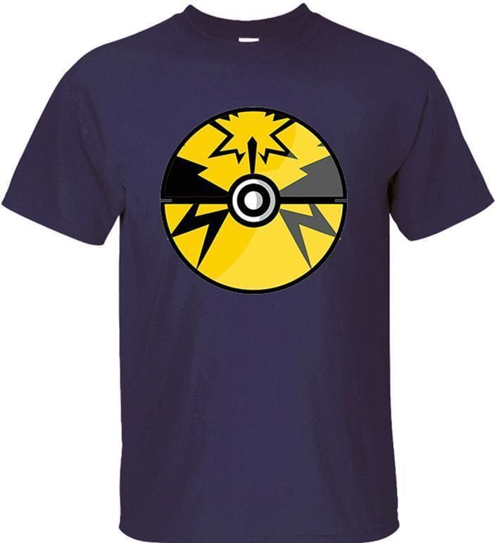 Pokemon Shirts - Team Instinct Pokeball - Anime Clothing