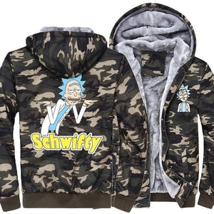 Rick And Morty Camo Jackets - Choose Design - Anime Clothing