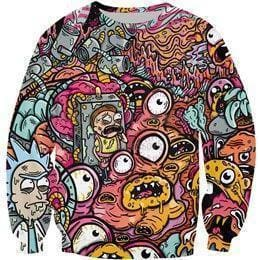 Rick and Morty Merch - Monsters - Anime Clothes