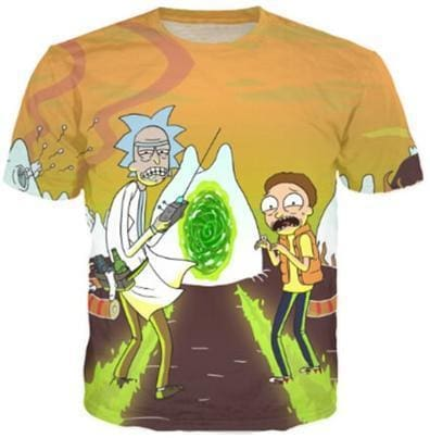 Rick And Morty Shirts - Dimension - Anime Clothes