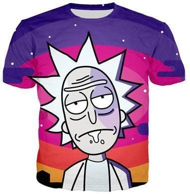 Rick And Morty Shirts - Just Rick - Anime Clothes