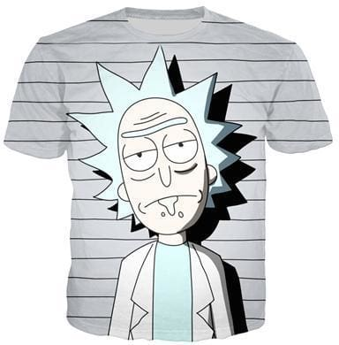 Rick And Morty Shirts - Lineup Rick - Anime Clothes