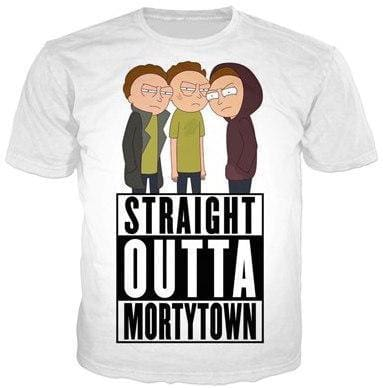 Rick And Morty Shirts - Morty Town - Anime Clothes