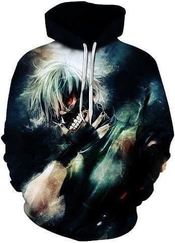 Tokyo Ghoul Hoodies - Pure Evil - Anime Clothes