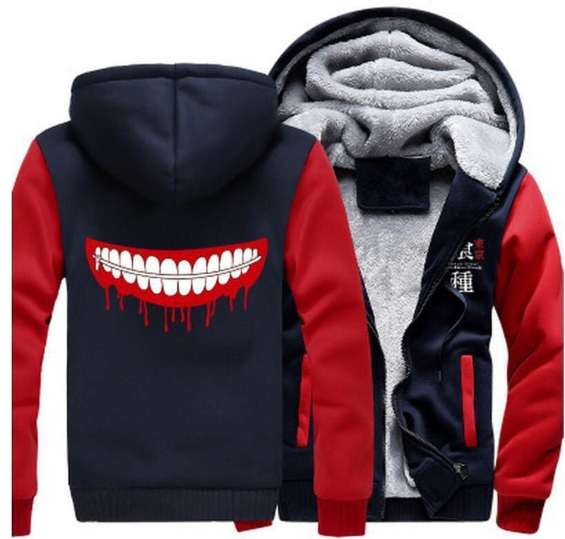 Tokyo Ghoul Jackets - Blood And Teeth - Anime Clothing