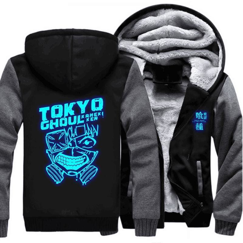 Tokyo Ghoul Jackets - Tokyo Ghoul Glowing Logo - Anime Merchandise