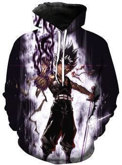Yu Yu Hakusho Hoodies - Dragon of Darkness Hiei - Anime Clothes