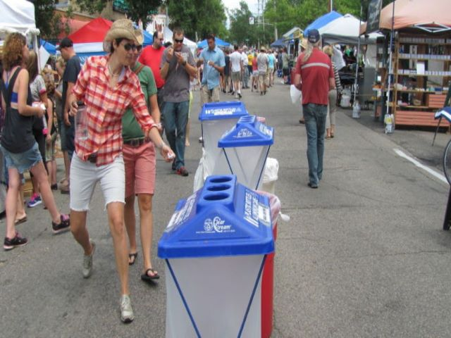 Around Town: For the first time, AtwoodFest recycled thousands of plastic beer cups