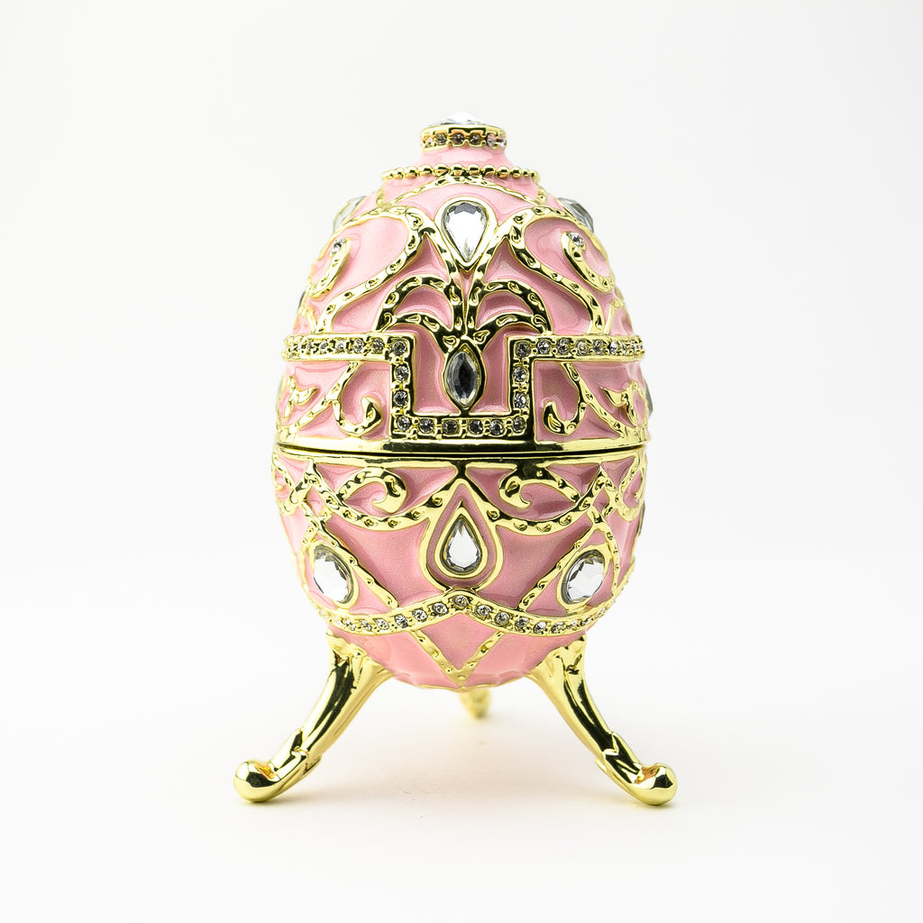 Pink Music Playing Russian Egg