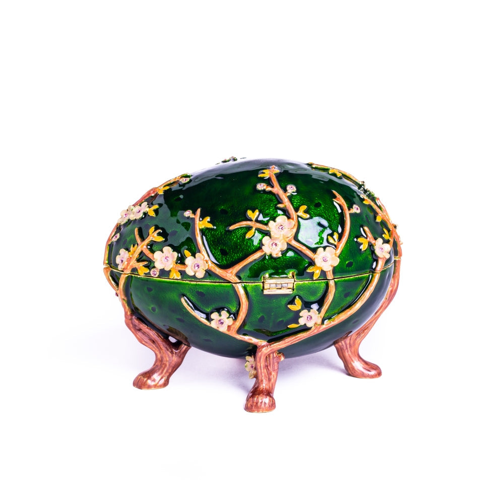 Apple Blossom Faberge Egg
